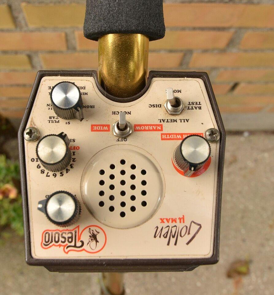 Metaldetektor, Tesoro Golden uMax