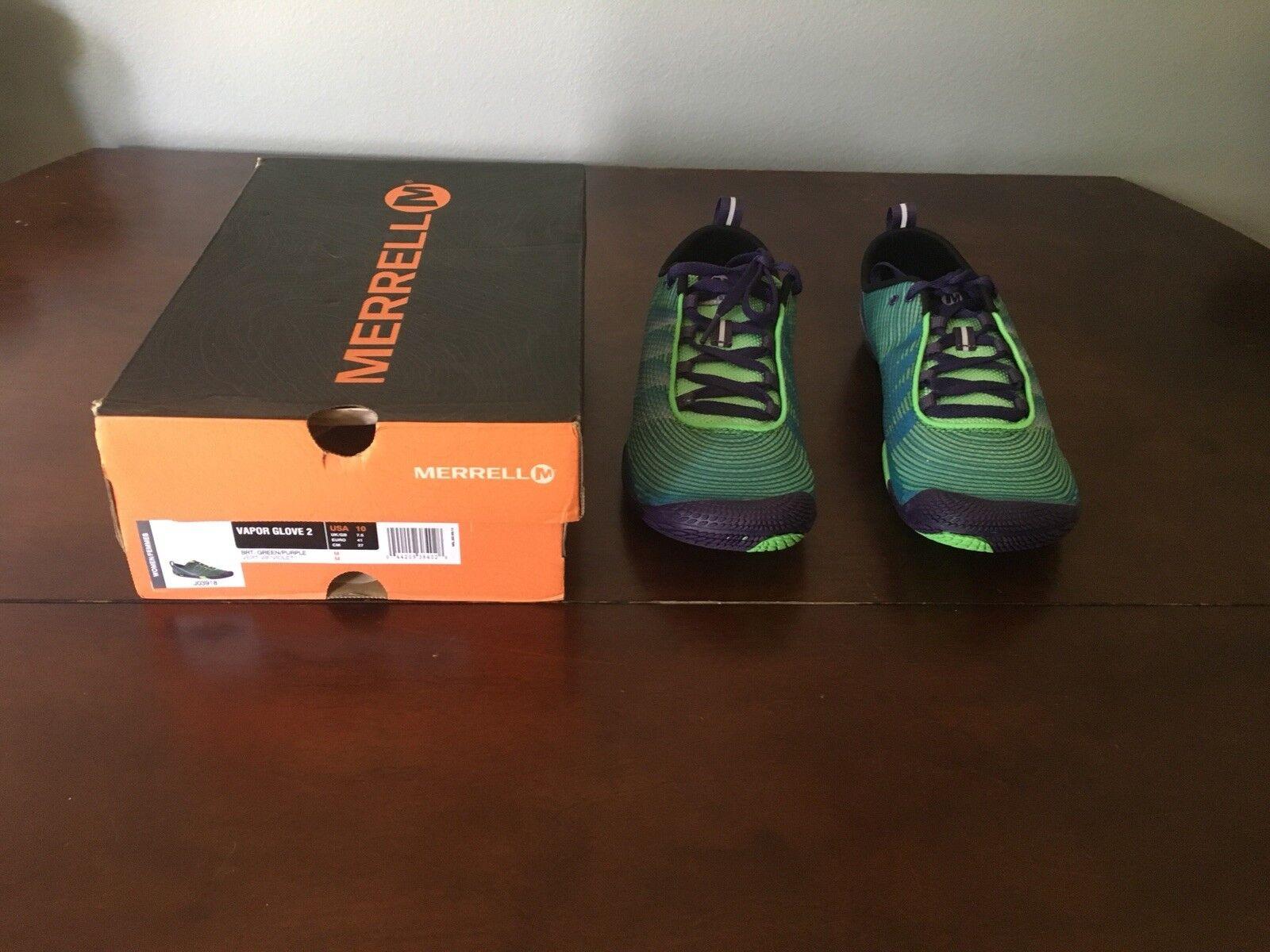 Merrell Damenschuhe Vapor Glove 2 Trail Runner, Liberty, 10 M US