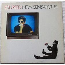 LOU REED - New sensations - LP VINYL 1984 NEAR MINT COVER VG+ PROMO WHITE LABEL