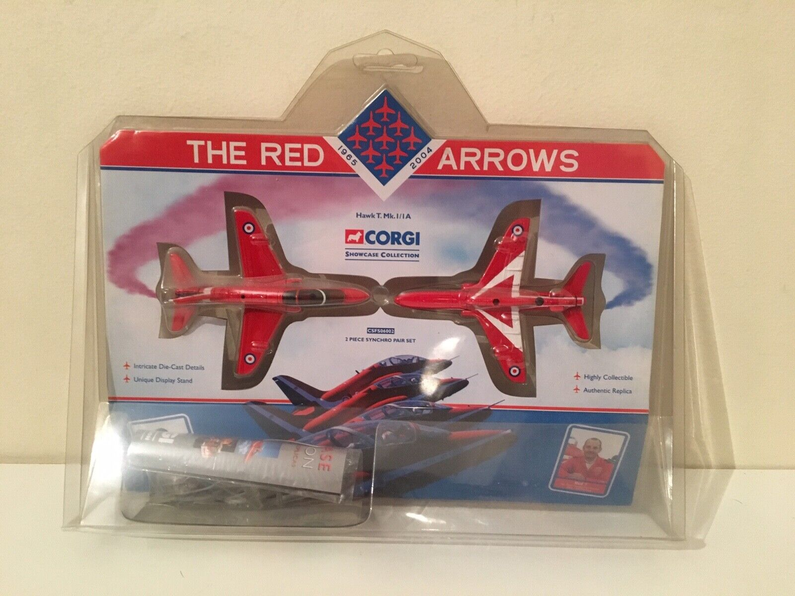 Corgi CSFS06002 - Red Arrows Hawk T.Mk.I   IA - Synchro Set, Showcase Collection