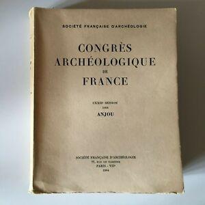 Congresso Archeologico Di Francia 122e Session 1964 Anjou