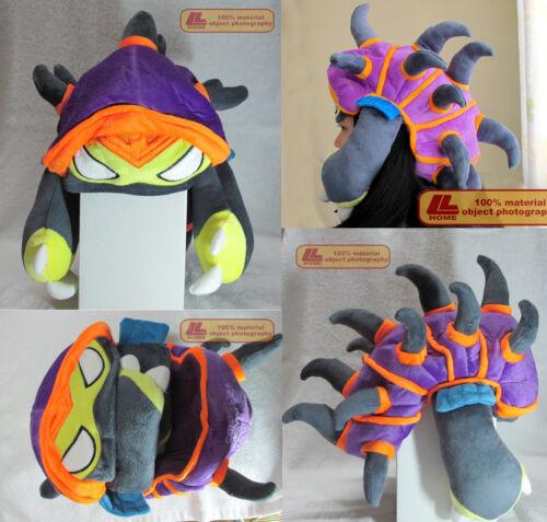 League of Legends LOL Armordillo Cosplay Cap PAX Rammus Dragon Turtle Hat Gift 2