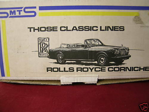 SMTS SMTS SMTS CLASSICLINE 2 ROLLS ROYCE CORNICHE CONgreenIBLE WHITE BOXED SCALE 1 43 a08560