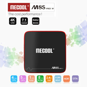 Mecool-M8s-pro-con-Android-7-1-1-5ghz-Quad-Core-Tv-Box-2-4g-Wi-Fi-100mbps-1g