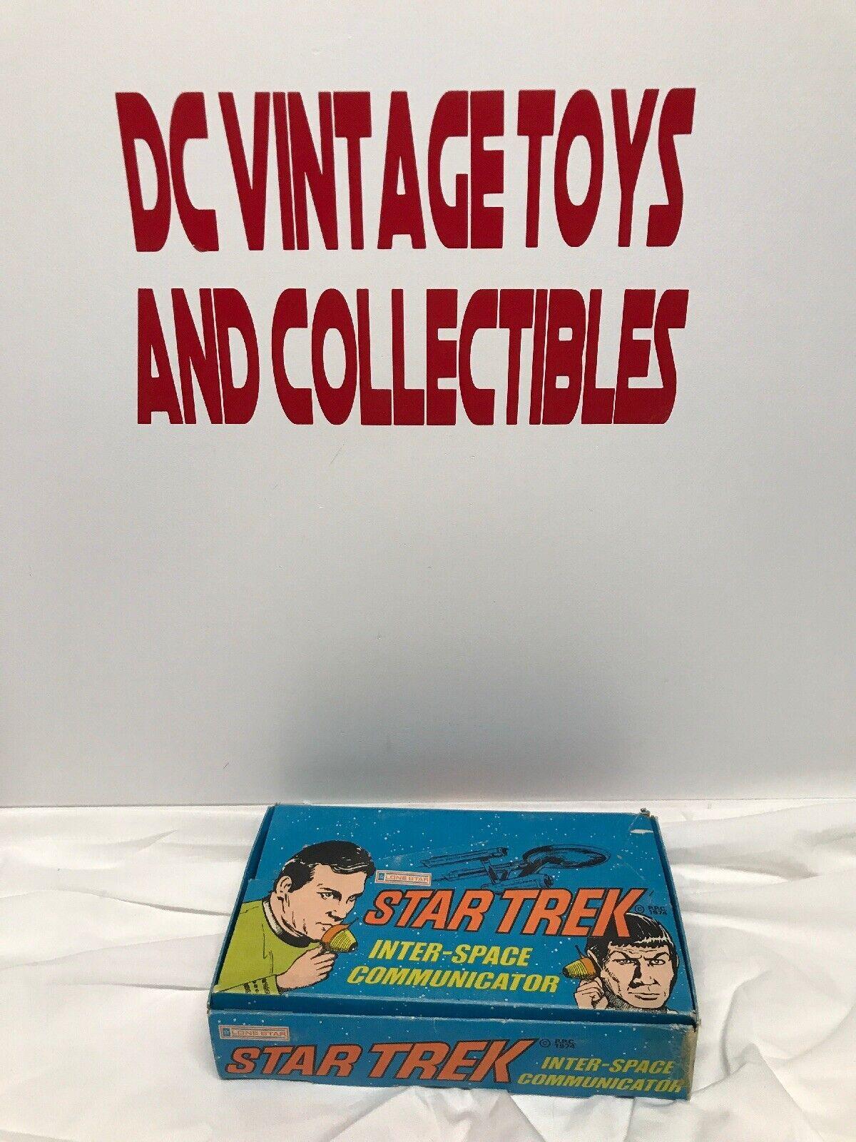 Scarce Rare Vintage Star Trek 1974 LONE STAR Inter-Space communicator