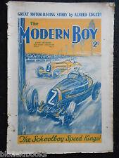 THE MODERN BOY; Pre War Comic - June 20th 1936 - Alfred Edgar, Felix the Cat