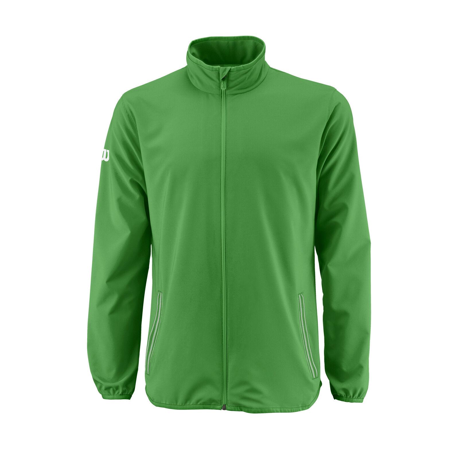 Wilson track Jacket Team Woven Tennis Mens Green