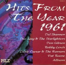 Hits from the Year 1961 Del Shannon, Don Gibson, Bobby Lewis, Allisons.. [CD]