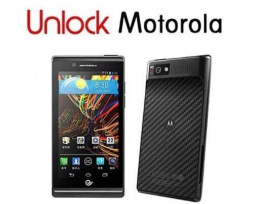 Motorola Worldwide Factory NCK Unlock All Models International Carriers Only