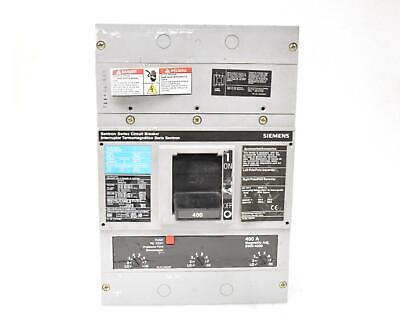 ITE SIEMENS JXD 3 pole 400 Amp Trip 600v JXD63B400 Circuit Breaker JXD6-A