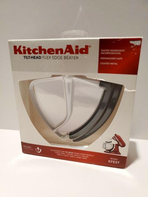 Y1 KitchenAid Flex Edge Beater KFE5T for 4.5 / 5 Quart Tilt-Head Mixers New