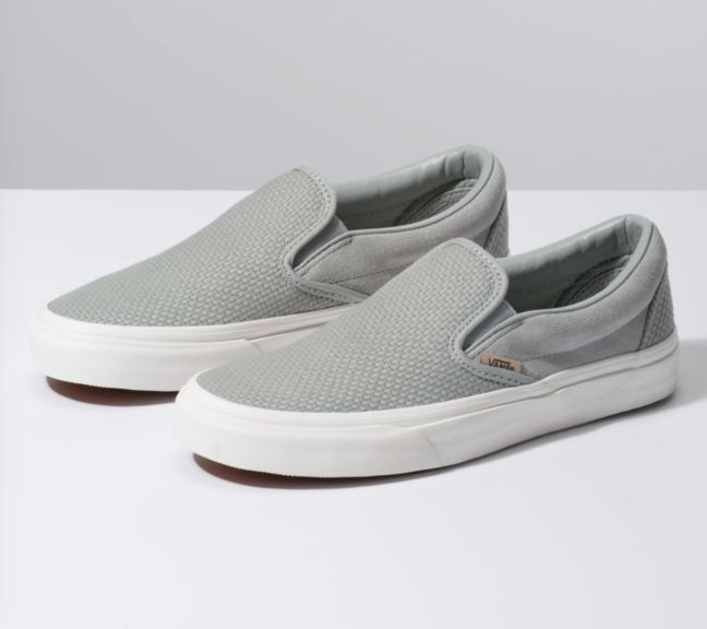 VANS CLASSI Slip-On Tejido cheque BELGIAN VN0A38F7VMS para mujer 6.5