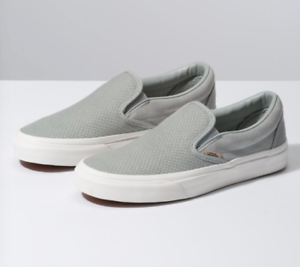 VANS CLASSI Slip-On Tejido cheque BELGIAN VN0A38F7VMS para mujer 9.0