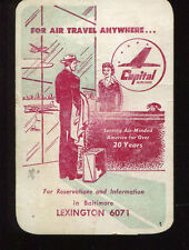 1948 Baltimore Colts Football Schedule Capital Airlines