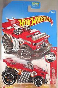 2017-Hot-Wheels-39-HW-Rescue-2-10-BACKDRAFTER-Red-w-Black-OH6-Spokes-Wheels