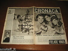 RIVISTA CRONACA=1965/1=DELITTO BIENTINA PISA=BIANCAVILLA=MAUREEN GAY=