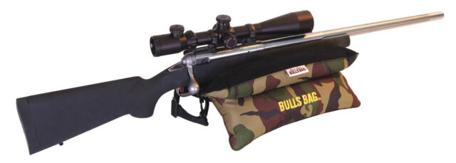 Bulls Bag 91505 Bench Camo Suede 15 Quot Shooting Rest Filled Ebay