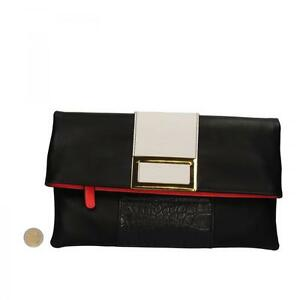 AR466 OLTRE sac noir cuir synthétique femme