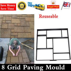 Driveway-Paving-Brick-Patio-Concrete-Slabs-Path-Pathmate-Garden-Walk-Maker-Mould