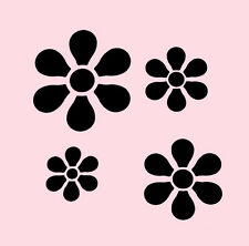 FUNKY FLOWERS STENCIL CRAFT FLOWER TEMPLATE NEW BY STENSOURCE