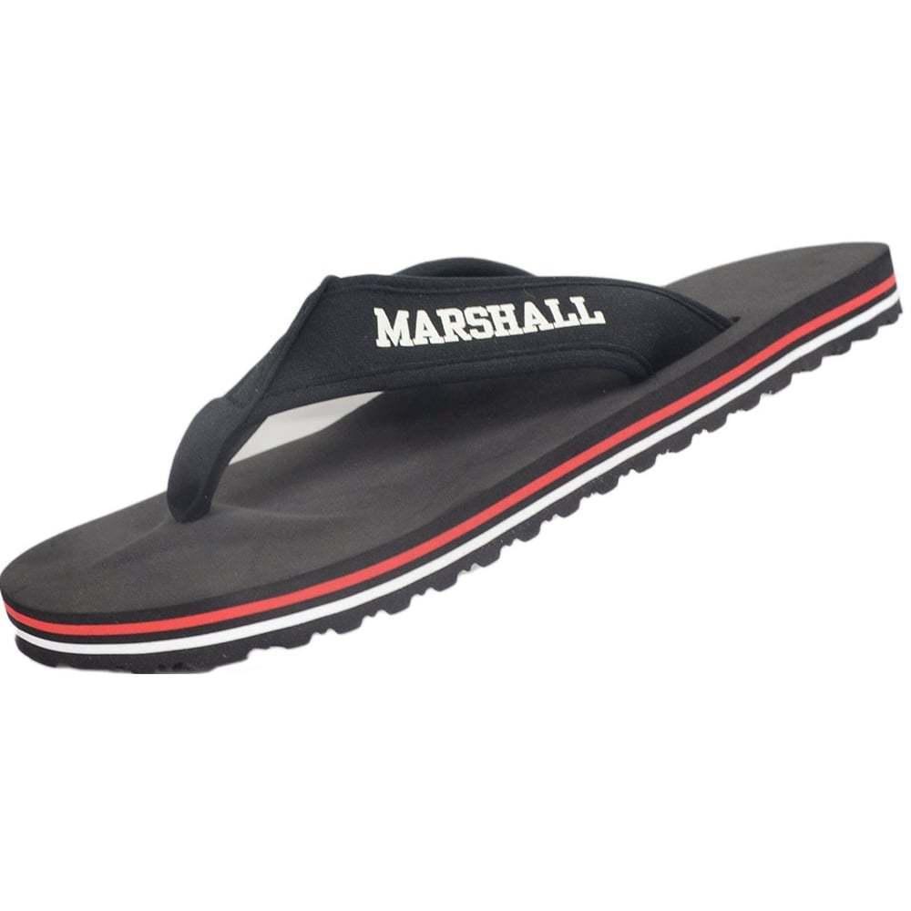 Franklin & Marshall UA980 Unisex Black Flip Flop