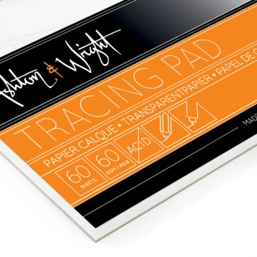Ashton and Wright 60 Sheets High Quality 60gsm Paper A3 Tracing Pad