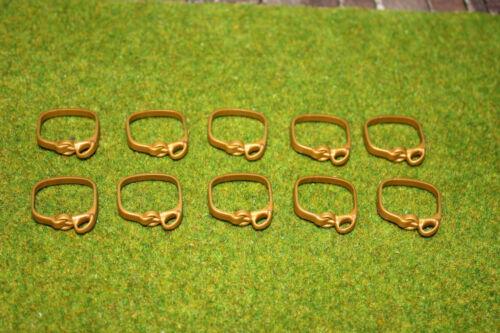10 x ceinture, or waffengurt Chevalier Ceinture, soldats, chevaliers, romains vikings