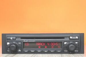 AUDI-CONCERT-A3-S3-CD-RADIO-PLAYER-CAR-STEREO-CODE-GRUNDIG-HEADUNIT