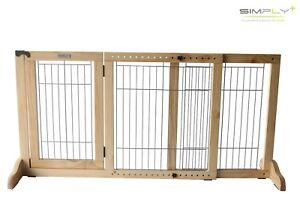 Sehr Simply Shield+   Hunde-Barriere   Hunde-Absperrgitter mit Tür FI89
