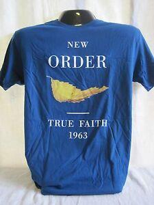 2454afe93 New Order T-Shirt Tee New Wave English Music Band Sumner Hook Morris ...