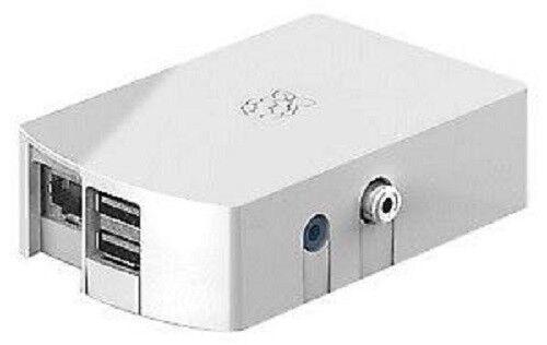 Raspberry Pi Type B in White case New in Box-Pi-B+WhtCase