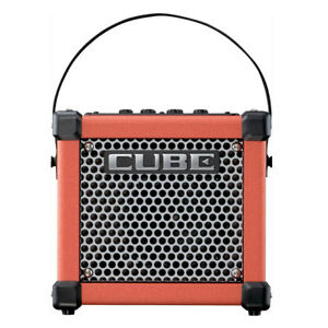 roland micro cube gxr 3w 1x5 portable guitar combo amp red 761294504543 ebay. Black Bedroom Furniture Sets. Home Design Ideas