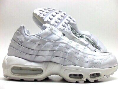 "Nike WMNS Air Max 95 OG ""Triple White"" 307960 108 Free"