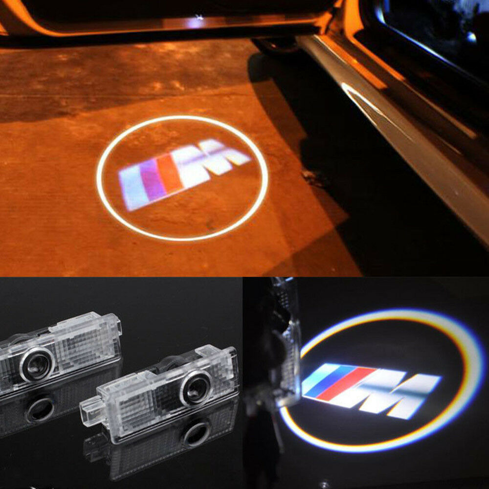 2 cree led car door courtesy laser projector logo ghost. Black Bedroom Furniture Sets. Home Design Ideas