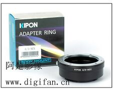 New Kipon Adapter for OLYMPUS 4/3 Lens to Sony NEX E NEX-7/6/5 a7 a7r NEX-VG20