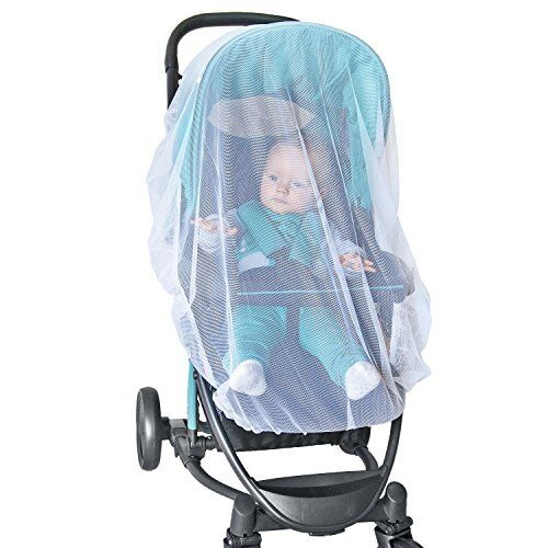 NEW White Mosquito Net Mesh Cover Baby Child Bassinet for MAXI-COSI Strollers