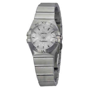 032c4606d9d Omega Constellation Mother of Pearl Ladies Watch 123.10.24.60.05.001 ...