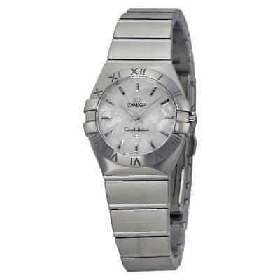 Omega Constellation Mother of Pearl Ladies Watch 123.10.24.60.05.001
