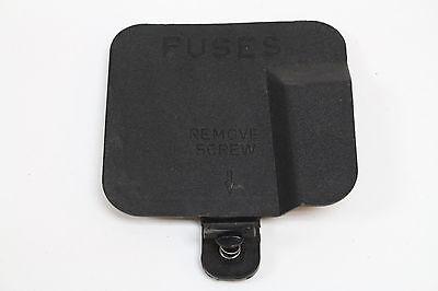 89 camaro fuse box 82 89 camaro iroc z28 rs fuse box panel cover used ebay  82 89 camaro iroc z28 rs fuse box panel
