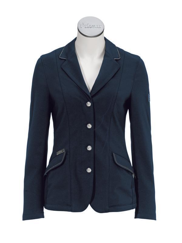 Pikeur Sarissa Stretch mostra Dressage Giacca Blu Navy 8 - 16
