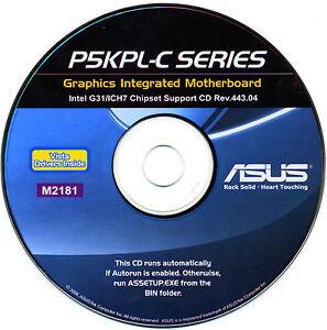 ASUS P5KPL-C 1600 ETHERNET DRIVERS UPDATE