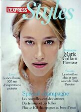STYLES 2007: MARIE GILLAIN_CLAUDIA SCHIFFER_KONSTANTIN GRCIC_NATALIE DESSAY