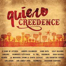 QUIERO CREEDENCE - JUANES, LOS LOBOS, JUAN GABRIEL -  CD NEU