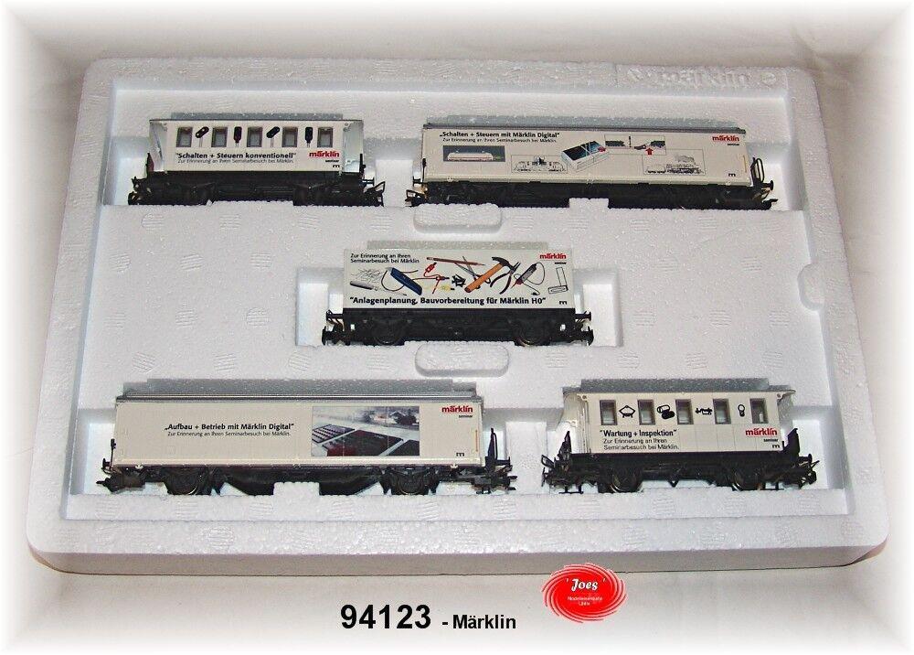 Märklin 94123 vagones seminario 5 piezas NUEVO EN EMB. orig.