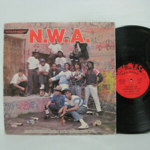N-W-A-And-The-Posse-S-T-LP-1987-US-Ruthless-Macola-Dr-Dre-ICE-CUBE-EAZY-E