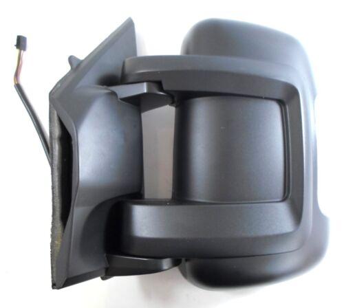 Electric Short Arm Wing Door Mirror Left Side NS For Peugeot Boxer Van 5//2014