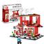Sembo 601018 Stadt Straße Block Spielzeug Baukasten Fast Food Laden KEC