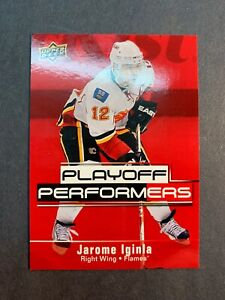 2009-10-Upper-Deck-Playoff-Performers-PP5-Jarome-Iginla-Calgary-Flames