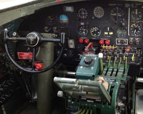 B17 Flying Fortress Instrument Panel Print WWII WW2