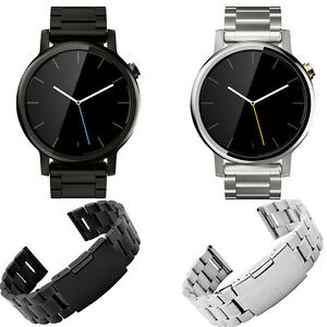 LUXURY-316L-Stainless-Steel-Bracelet-For-Moto-360-2nd-42mm-46mm-Watch-Band-US